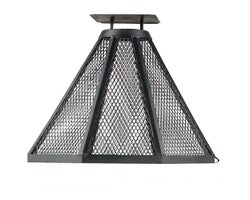 Fire Screen for Concrete Block Fireplace