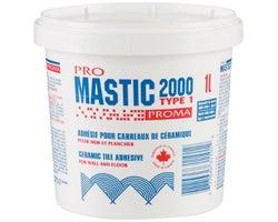 Colle à céramique Pro Mastic 2000 1 L
