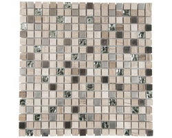 Dakota Glass & Marble Mosaic 12 in. x 12 in.