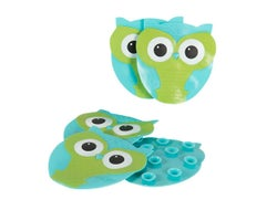 Owl Fun Treads for Bathtub (5-Pack)