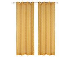 Sheer Grommet Curtains 54in.x96in. (2-Pack)