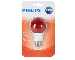 Ampoule DEL A19 8 W Rouge