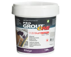 Coulis Pro Grout ONE 1,89 L Coquille d'huître