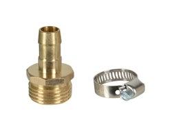Raccord de réparation mâle pour tuyau d'arrosage 1/2 po