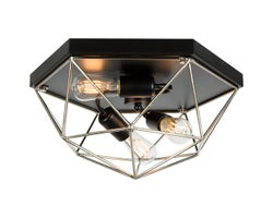 Zarak 3-Light Ceiling Mount