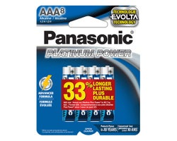 Panasonic Batteries AAA (8-Pack)