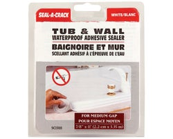 Tub and Wall Adhesive Sealer - 7/8 in. x 11 ft.