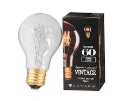 Ampoule incandescente Vintage A19, 60 W