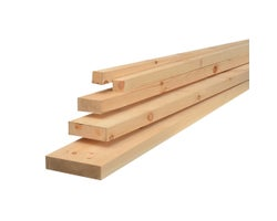 Knotted Pine 2 in. x 12 in. x 8 ft. Grade 1&2