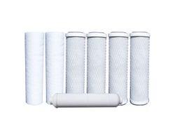 Ensemble de 7 filtres de pour filtration à osmose inversée