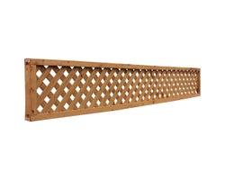 Treillis encadré pour clôture 1 pi x 8 pi