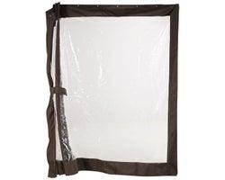 Rideaux clairs pour abri-soleil Sumatra 10 pi x 14 pi
