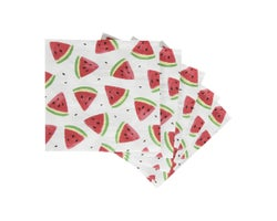 Table Napkins Watermelon (20-Pack)