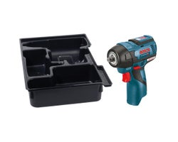 12V MAX EC Brushless 3/8 in. Impact Wrench with Exact-Fit Insert Tray (Tool Only)