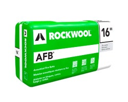 Rockwool AFB Acoustic Insulation 1-1/2 in. x 16 in. x 96 ft²