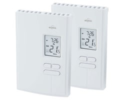 Programmable Electronic Thermostats 2500 W (2-Pack)