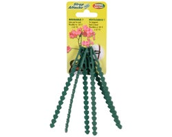 Attaches ajustables pour plantes 5 1/4 po, (Paquet de 6)
