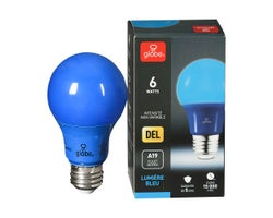 A19 LED Light Bulb Blue 6 W