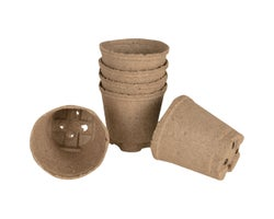 Peat Planting Pots 4 in. (6-Pack)