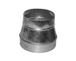 Galvanized Reducer , 8 in. x 7 in.