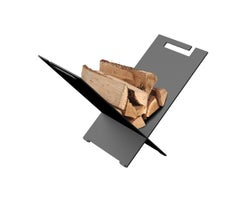 Rangement à bois autoportant Equiss