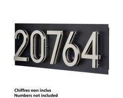 Address Plaque for LED Backlit House Number (Large)