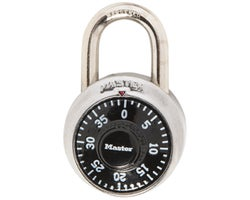Combination Padlock 1-7/8 in. Inox