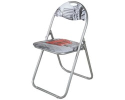 London Cushioned Folding Chair