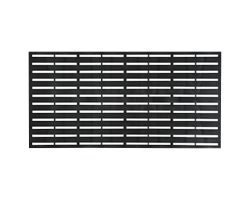 Boardwalk PVC Deco Panel 34 in. x 68 in.