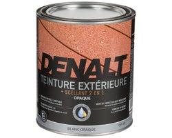 Teinture d'extérieur opaque , Denalt Blanc 946 ml