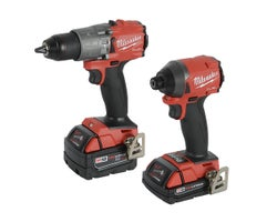 18 V Fuel Li-ion Hammer Drill & Impact Driver Set