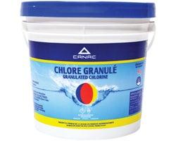 Chlore granulé 65% 4 kg