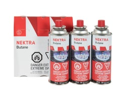 Butane Bottles 220 g(3-Pack)