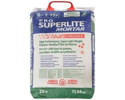 Ciment-colle Pro Superlite Mortar 11,34 kg