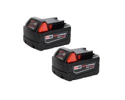 Extended Capacity Battery Pack REDLITHIUM XC 18 V (5,0 Ah) 2-Pack