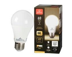 A19 Warm White LED Light Bulb 9 W