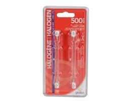 T3 Halogen Light Bulbs (Long)500 W (2-Pack)