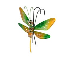 Dragonfly Flower Pot Decoration