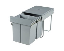 Double Pull-Out Wastebasket