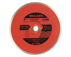 7 in. Diamond Saw Blade, (Continuous Rim)