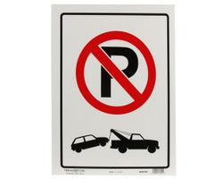No Parking Sign 12 in. x 16 in.
