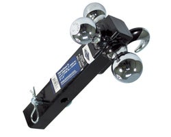 Trailer Ball Hitches Class IV2 in. X 2 in.Tri-Ball Mount + Hook