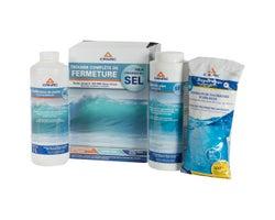 Trousse de fermeture pour piscine au sel