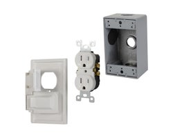 Outdoor Outlet Box Set