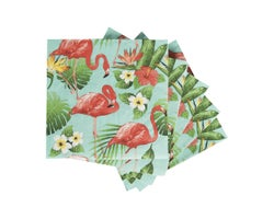 Table Napkins Flamingo (20-Pack)