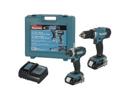 18 V Lithium-Ion Drill Driver& Impact Driver Set