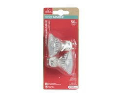 MR16 (GU10) Halogen Light Bulbs 50 W (2-Pack)