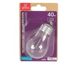 Ampoule incandescente pour électroménagers, A15, 40 W
