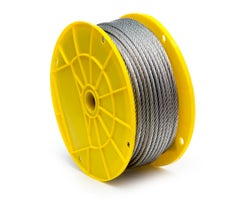 Galvanized Steel Cable 1/4 in. (Bulk)