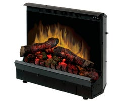 Deluxe Electric Fireplace Insert , 1375 W Black